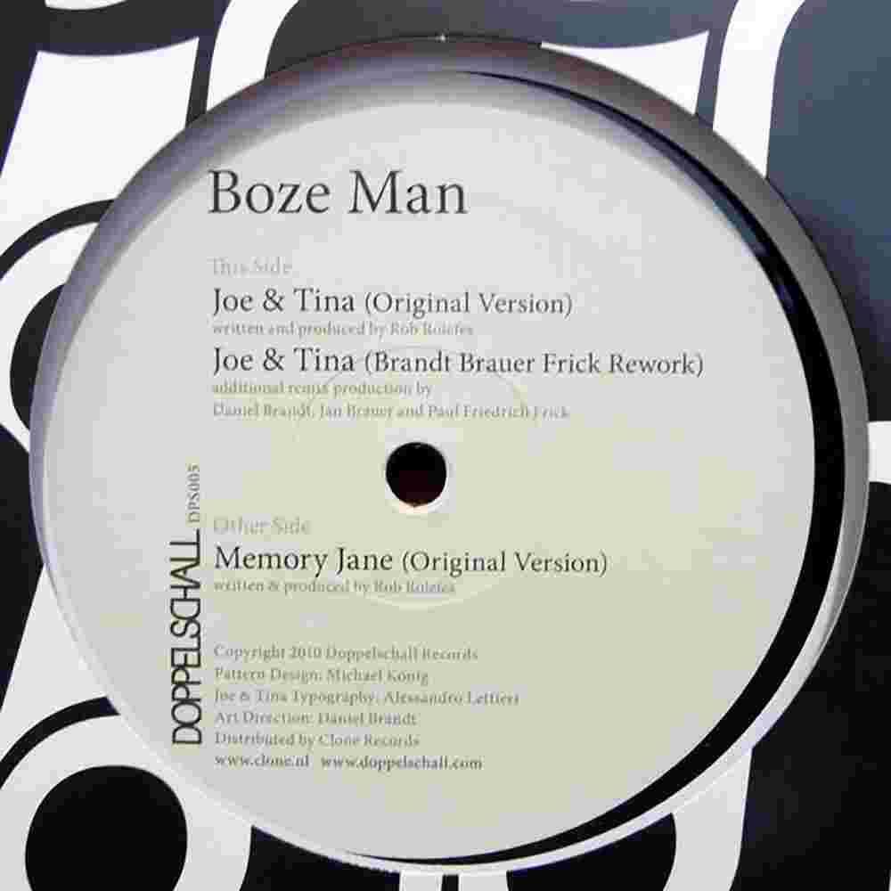 Boze Man - Joe & Tina – BBF Remix